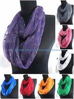 Us Seller , 6pc Wholesale Scarves For Women Vintage Flower Infinity Scarf