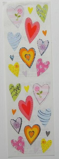 MRS GROSSMANS DELIGHTFUL HEARTS REFLECTIONS STICKER STRIP BN & NLA