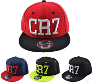 Image is loading Cristiano-Ronaldo-CR7-Real-Madrid-Footbal-Hat-Soccer- 262d4389aac