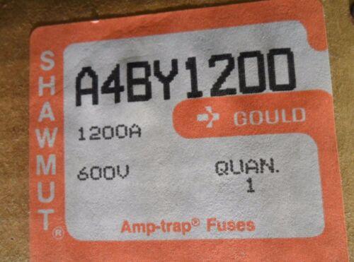 New Shawmut A4BY1200 1200 Amp Fuse Bussmann KRP-C-1200 600V Class L NIB