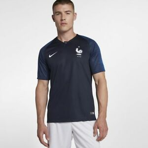 wholesale dealer a1b20 7b66b Details about Nike MEN'S 2018-2019 FRANCE Stadium Home Jersey WORLD CUP  SIZE XL BRAND NEW