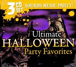 ULTIMATE HALLOWEEN PARTY FAVORITES: SPOOKY SONGS & SOUND EFFECTS 3 ...