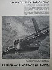 6/1964 PUB DE HAVILLAND DHC-4 CARIBOU RAAF AUSTRALIAN AIR FORCE ORIGINAL AD
