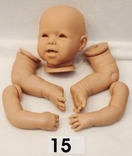 15 festa della mamma-ASTA Testa-BRACCIA-GAMBE circa 50cm-Reborn Reborn KIT n.