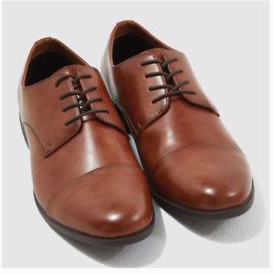 New-Men-039-s-Call-it-Spring-Round-Toe-Oxford-Lace-Up-Dress-Shoes-Brown-Size-12