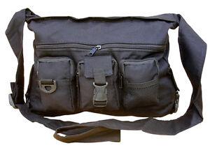 Mens Travel Shoulder Man Bag Satchel Combat Messenger Army Military Surplus New