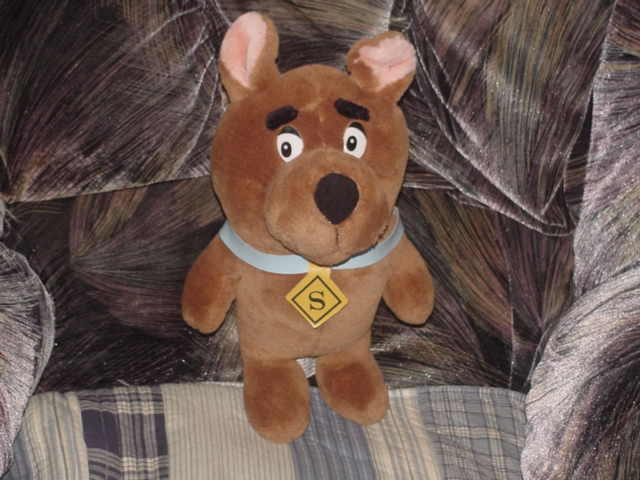 14  Scrappy Doo Plush Toy From Scooby Doo 1990 Rare
