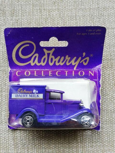 Cadbury's Collection Dairy Milk Model a Ford Van Circa 1994 by Majorette