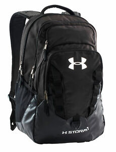 Under Armour Storm Recruit Backpack - Black for sale online  45e56124a58e6