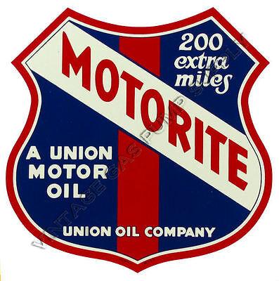 "Union Motorite 9/"" Water Transfer Decal DW427"