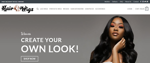 Dropshipping-Hair-Wig-Store-Professional-Website-Turnkey-Business-For-Sale
