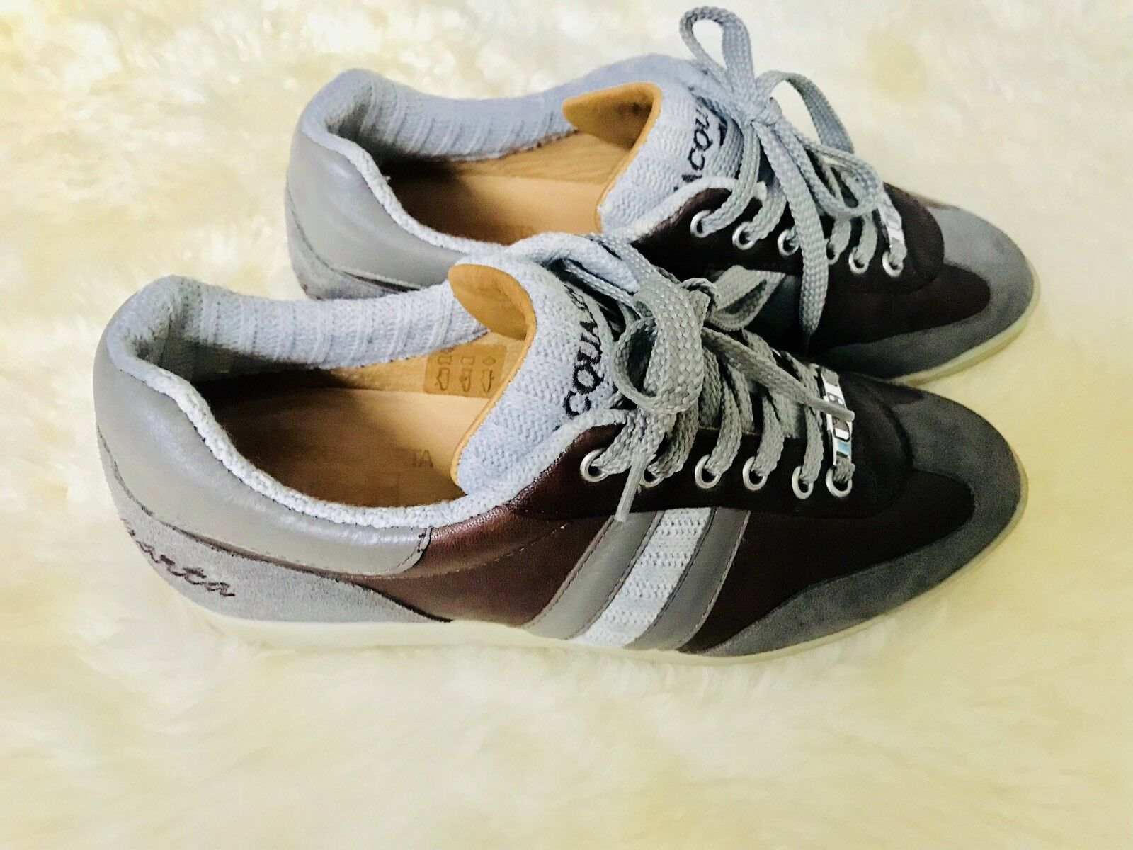 BARGAIN Genuine Genuine Genuine D'aquasparta Italian Hand Made Women Trainers 076dcc