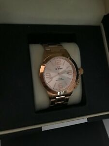SALE NEW AUTHENTIC TW STEEL CB402 CANTEEN ROSEGOLD BRACELET WATCH UNISEX TWSTEEL