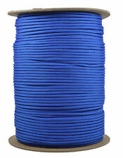 Royal Blue - 550 Paracord Rope 7 strand Parachute Cord - 1000 Foot Spool