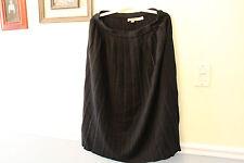 Leau Vive Womans Skirt Size Large Black