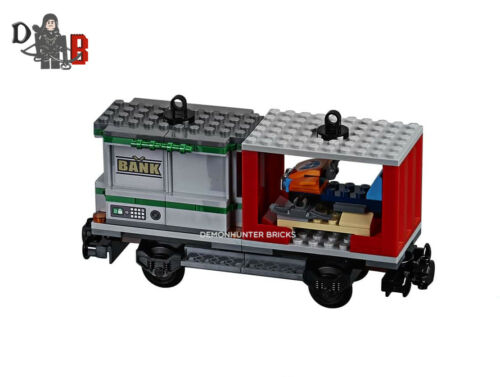No Powered UP LEGO City Cargo Train 60198 Container Ski Wagon//carriage only