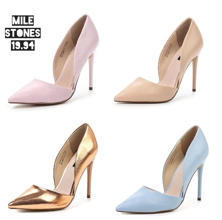 Woman Woman Woman schuhe CLEO HIGH HEELED COURT Lost Ink new b7ed05