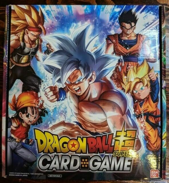 lot de 5 booster vide empty dbz dragon ball z trading cards hero collection