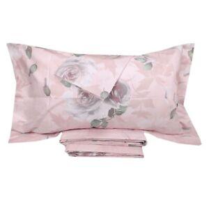 wholesale dealer 9db7e 32021 Dettagli su Lenzuola effetto-copriletto matrimoniale MIRABELLO PRECIOUS ROSE