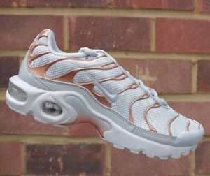 air max plus junior white