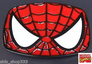 Spider-Man-metal-Belt-BUCKLE-Spidey-Spider-man-Spiderman-marvel-comics-Cosplay