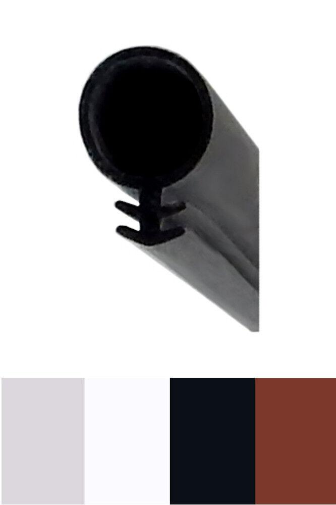 Fensterdichtung ST104/8 schwarz  100 m =0,79 Euro/m Silikondichtung Tannenzapfen