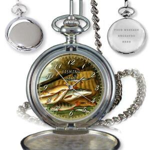 FISHING-TIME-FISHERMAN-ANGLING-POCKET-WATCH-BIRTHDAY-GIFT-ENGRAVING