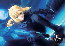 NEW Authentic Great Eastern (GE-77616) Fate/Zero Saber Wall Scroll Fabric Poster