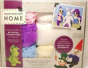 Huntington Home Crochet Kit Woodland Creatures For Beginners Deer