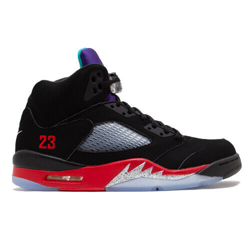 Size 8 - Jordan 5 Retro Top 3 Black 2020 for sale online | eBay