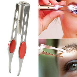 Stainless-Steel-Makeup-Eyelash-Eyebrow-Hair-Removal-Tweezer-With-LED-Light-C7B6