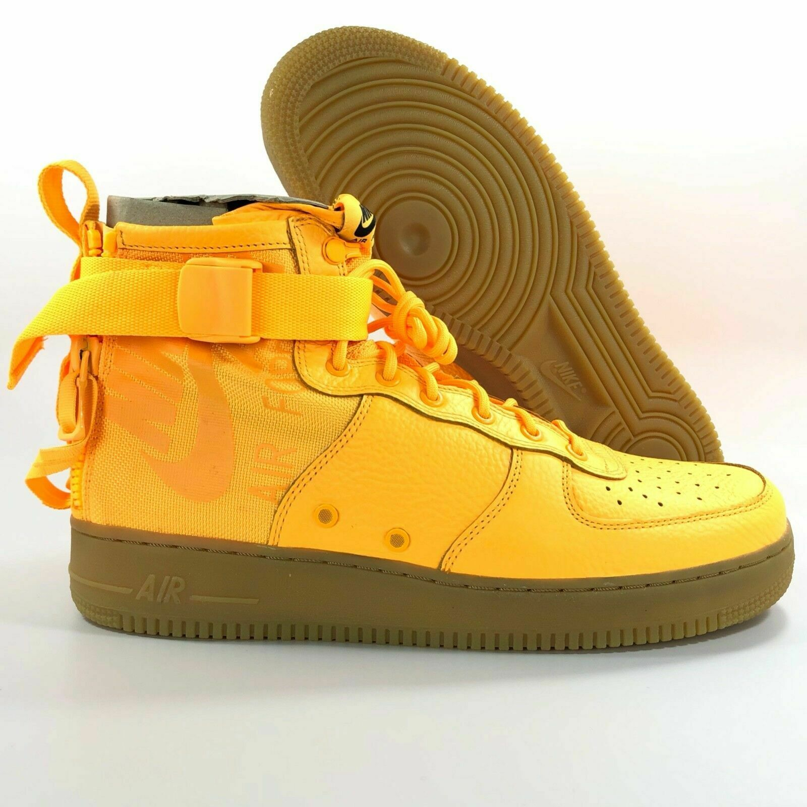 a2f11abccd NIKE AIR FORCE 1 MID OBJ SPECIAL FIELD LASER orange 917753 801 Men 10