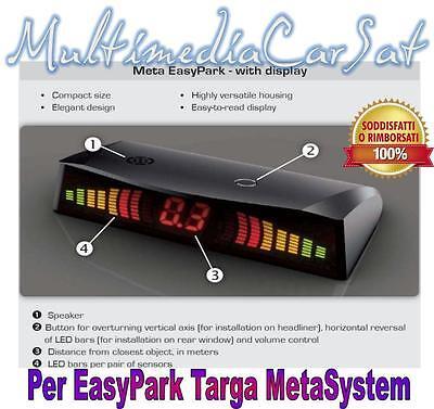 Meta Display Optional Auto Camper Parcheggio Portatarga Parking EasyTarga