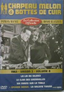 DVD-NEUF-CHAPEAU-MELON-amp-BOTTES-DE-CUIR-1962-SAISON-2-VOLUME-8