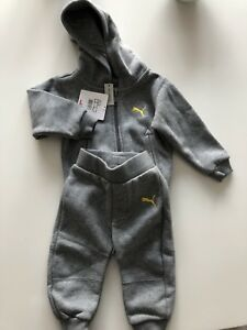 echte Qualität große Sammlung Top-Mode Jogginganzug Trainingsanzug Junge Puma Grau Gr. 62 | eBay