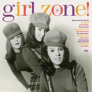 GIRL-ZONE-180g-red-vinyl-LP-Reparata-amp-Delrons-Ikettes-Angelos-Drake-Sisters