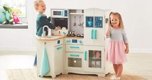 Member's Mark Deluxe Wooden Kitchen Play Center *distressed Pkg*