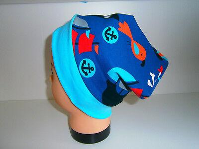 ♥ Nuovo-handmade ♥ Pirati ♥ Beanie Berretto ♥ ♥ Bambini Berretto ♥ Ku 38-58 ♥-piraten♥beanie♥mütze♥kindermütze♥ku 38-58♥ It-it L'Ultima Moda
