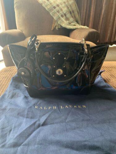 Ralph Lauren Collection Ricky Bag Patent Mini