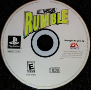 Nascar-Rumble-Ps1-Playstation-one-Disc-Only-TESTED-Rare-EA-Sports