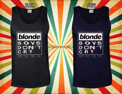 Blond Boys Don/'t Cry Frank Ocean Men Women Vest Tank Top Unisex T Shirt 1979