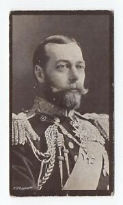Royalty-1910s-Trade-or-Cigarette-Tobacco-Card-King-George-V-Bewley-War-Series