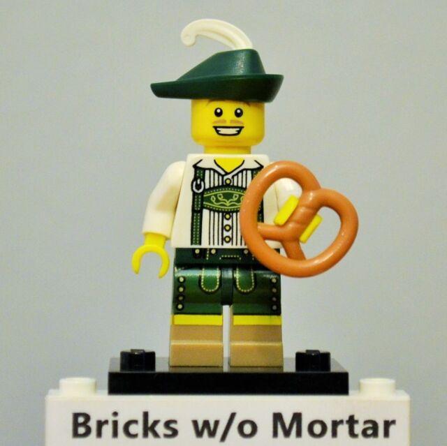 LEGO 8833 Lederhosen German Guy Minifig Mini Figures Series 8