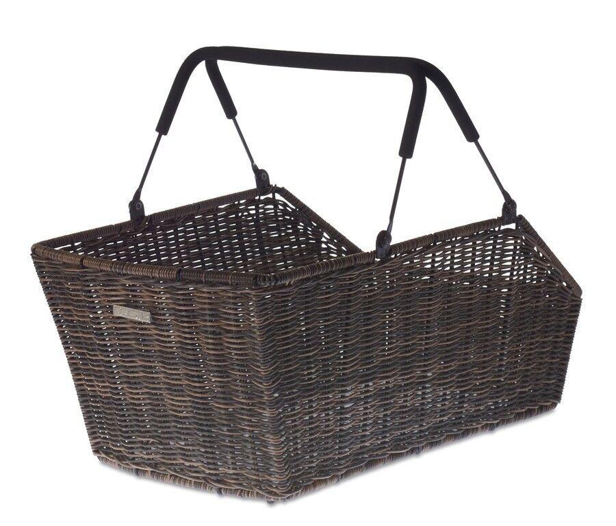 Basil Cento Multi-System Bike Basket (Rattan)