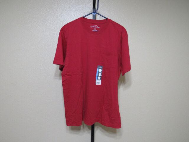 e52eb2d77236 Mens Eddie Bauer Barn Red Pocket Basic T Shirt Size 2xl XXL for sale ...