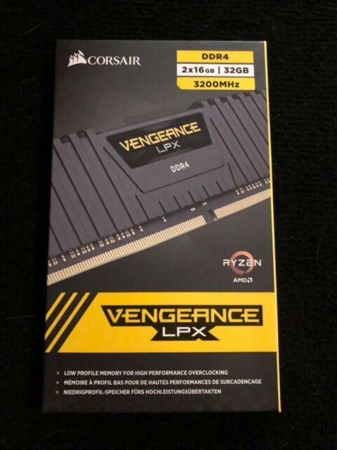 Corsair Vengeance LPX 2x 16GB 32GB PC4-25600 (DDR4-3200) Memory Card 3200MHz