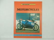 1987 The How And Why Wonder Book Of Motorcycles Suzuki Honda Yamaha L6005