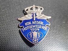KNMV Brosche 1904 emailliert 20er Jahre 30x40mm Preissler alt+original