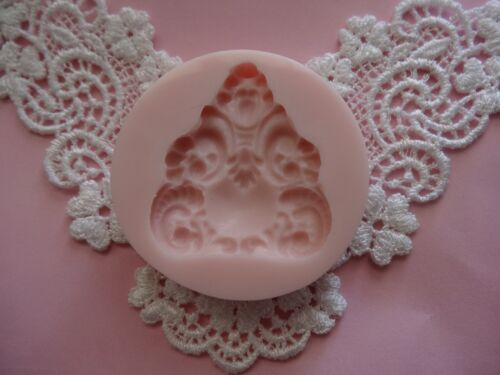 Moroccan brooch silicone mold fondant cake decorating APPROVED FOR FOOD