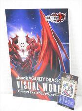 .HACK GUILTY DRAGON Visual Works 2 w/Mobile Phone Cleaner Art Book CC2 Ltd